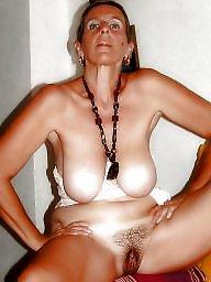 Mature nipples, Mature femdom
