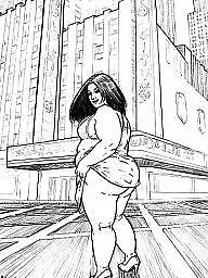 Toons, Bbw cartoon, Bbw cartoons, Cartoon bbw, Bbw toons
