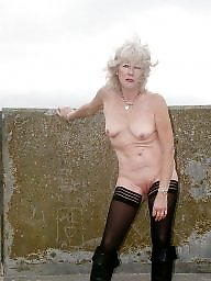 Granny, Flashing, Grannies, Flash, Mature granny, Hot