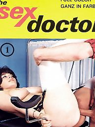 Doctor, Blowjob, Magazine, Hairy vintage