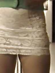 Skirt, Lace, Tights, Tight skirt, Tight, Slutty