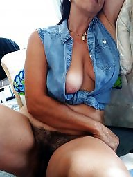 Hairy, Mature, Old, Wife, Mature hairy, Nipple