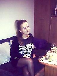 Polish, Nylons, Teen nylon, Nylon teen, Teen stockings, Amateur nylon