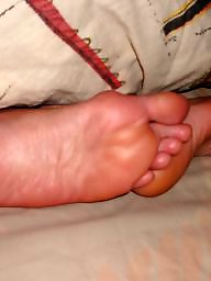Feet, Stocking feet, Stockings, My wife