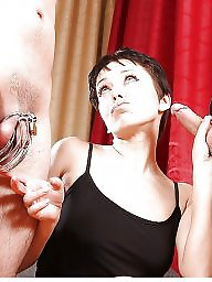 Femdom, Chastity, Cuckold captions, Caption, Cuckold, French