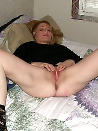 Pregnant, Blond wife