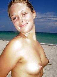Beach, Teen beach, Teen tits