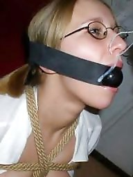 Gagged, Milf facial, Amateur facials, Gagging