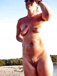 Flashing, Amateur milf, Flash