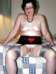 Grannies, Granny stockings, Nylon granny, Granny nylon, Stockings granny