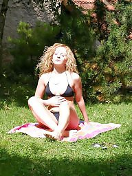 Caught, Blonde, Sunbathing
