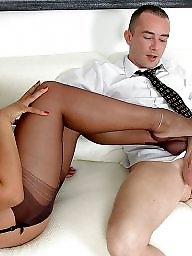 Nylons, Tease, Stockings tease
