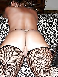 Fishnet, Mature stocking, Black mature