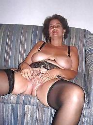 Stockings, Stocking, Hairy mature, Mature stocking