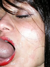 Husband, Friends, Milf facial