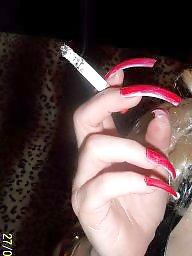 Femdom, Smoking