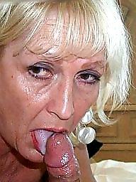 Granny facial, Granny, Facial, Mature facial, Facials, Mature facials