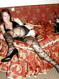 Stocking, Sexy stockings, Brunette milf