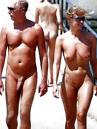 Nudist, Hanging, Couple, Couples, Nudists