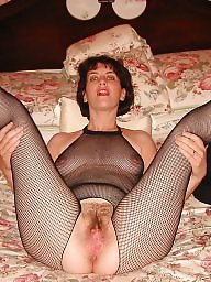Stockings, Milf stockings, Milf hairy