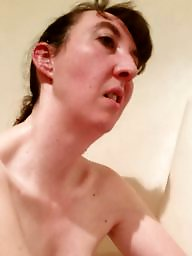 Bath, Brunette, Bathing, Wife tits, Relax