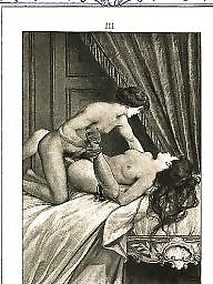 Vintage, Group, Art, Vintage cartoons, Erotic, Sex cartoons