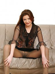 Nylon mature, Older, Mature nylon, Hairy mature, Mature stocking, Bush