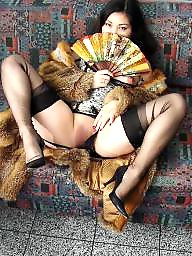 Vintage, Posing, Nylons, Vintage nylon, Nylon stockings