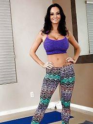 Yoga, Pants, Yoga pants, Blonde