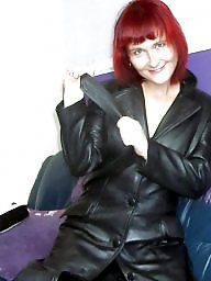 Leather, Pvc, Mature leather, Mature mix, Milf leather