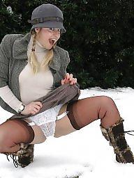 Lingerie, Heels, Teen stockings, Stockings teens