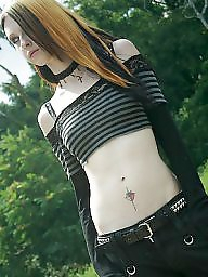 Model, Goth, Models, Liz
