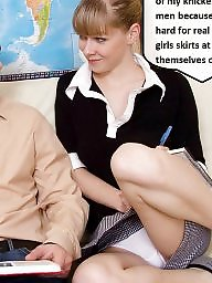 Panties, Captions, Upskirt panty