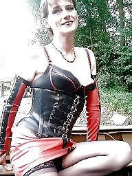 Latex, Leather, Mature latex, Mature leather, Milf mature