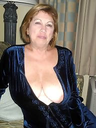 Grandma, Grandmas, Mature boobs