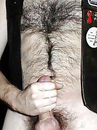 Leather, Amateur hairy, Amateur bdsm