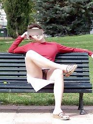 Upskirt hairy, Hairy upskirt, Public nudity