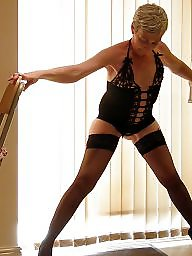 Black mature, French, Mature stockings, Mature legs, Mature french, Legs stockings