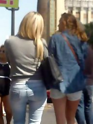 Jeans, Butt, Butts, Hidden cam