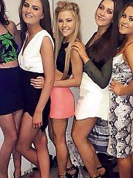 Teen, Group, Uk teen, Brunette