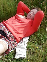Outdoor, Mature outdoor, Mature amateur, Amateur granny, Outdoors, Public mature