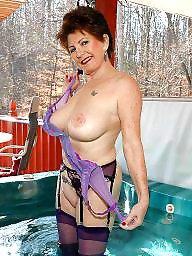 Mature boobs, Mature stockings, Big mature, Mature big boobs
