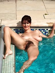 Pool, Milf mature, Mature boobs, Mature big boobs, Boob