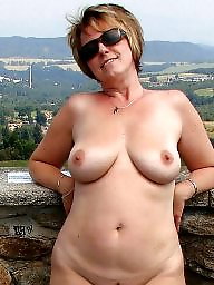 Big boobs, Mature flashing, Outside, Mature big tits, Mature boobs, Mature flash