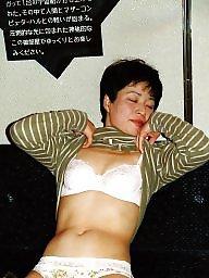 Japanese milf, Hairy amateur
