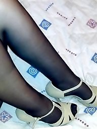 Pantyhose, Wife, Stockings, Fakes, Wife amateur, My wife