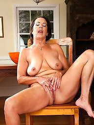 Swallow, Whore, Mature brunette, Mature whore, Swallowing, Brunette mature