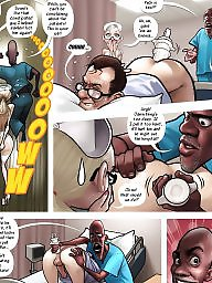 Nurse, Interracial cartoon, Funny
