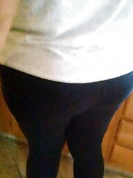 Ass, Leggings, Legs, Big, Bbw legs, Big booty