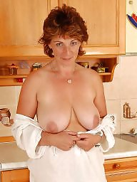 Kitchen, Hairy mature, ‌kitchen, Posing, Mature boobs, Milf hairy
